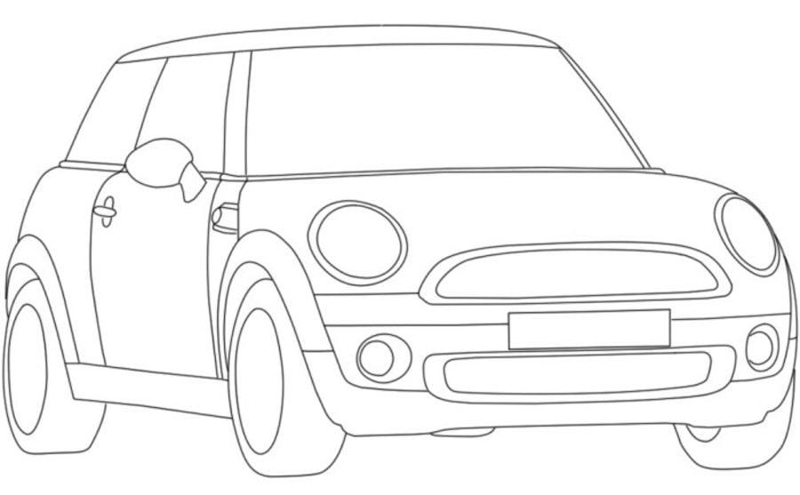 Ausmalbilder ausmalbilder mini cooper zum ausdrucken kostenlos f r kinder und erwachsene - Coloriage voiture mini cooper ...