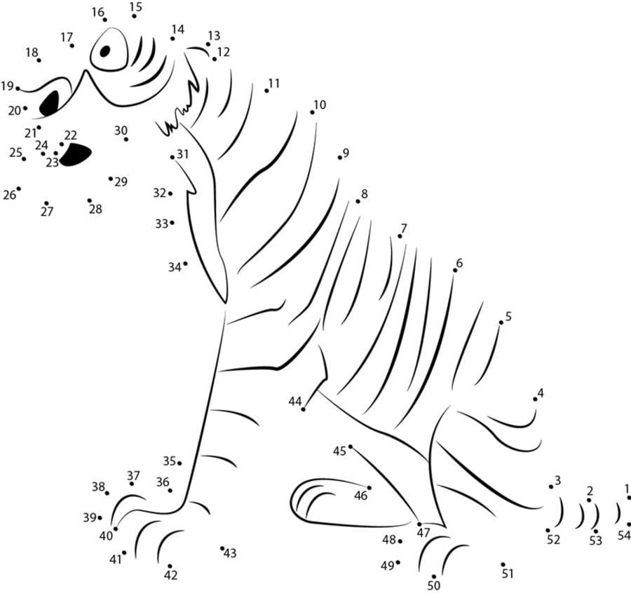 Unir Puntos El Libro De La Selva Imprimible Gratis Para