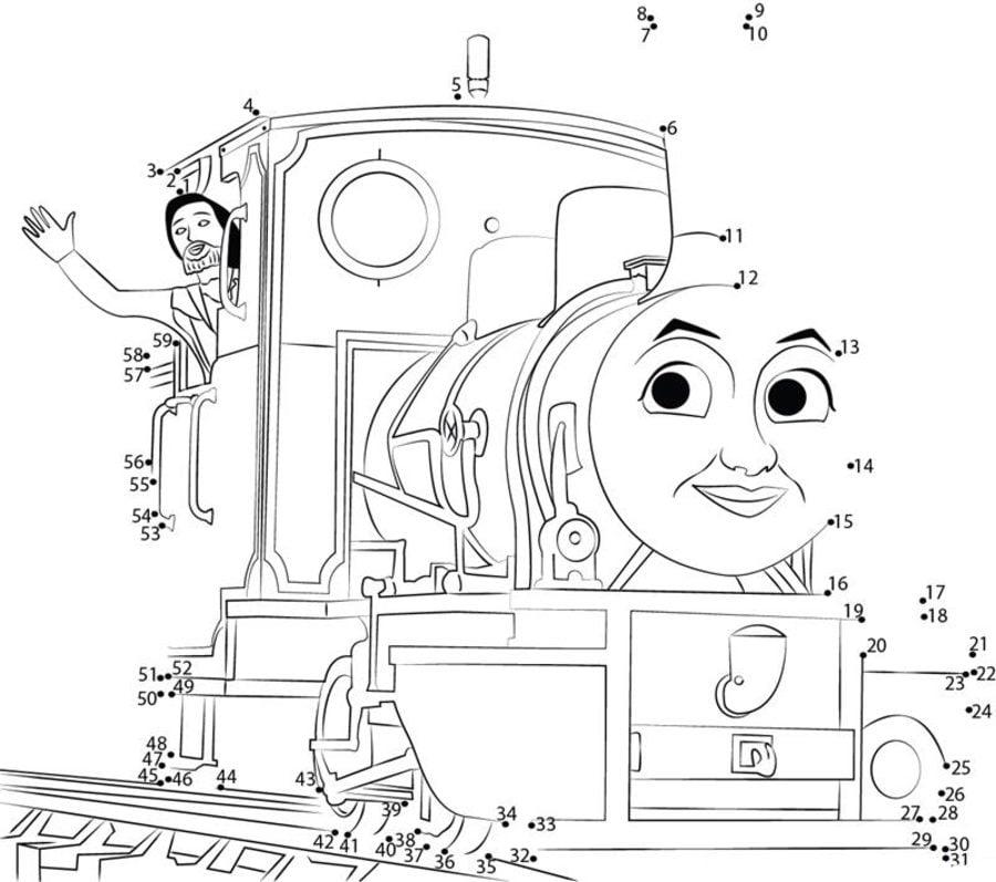 Ziemlich Thomas Die Kleine Lokomotive Arbeitsblatt Ideen ...