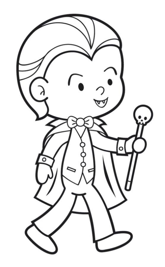 Disegni da colorare disegni da colorare vampiro for Disegni da colorare per adulti e ragazzi