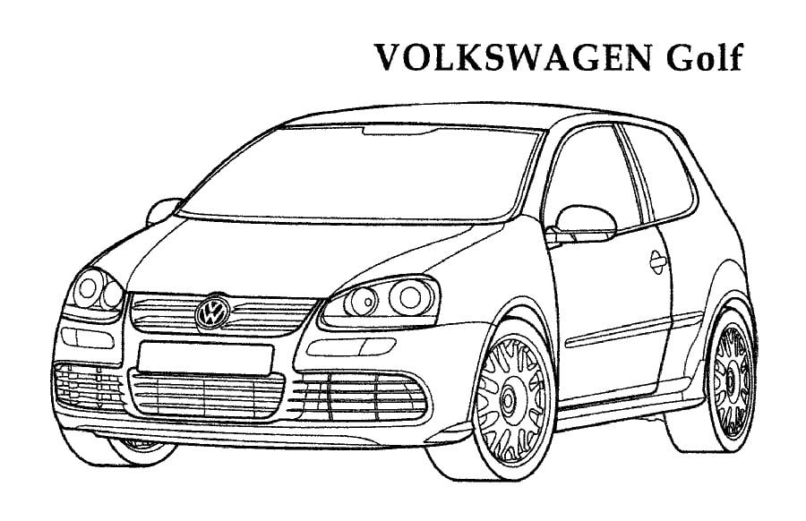 Ausmalbilder Ausmalbilder Volkswagen Zum Ausdrucken Kostenlos