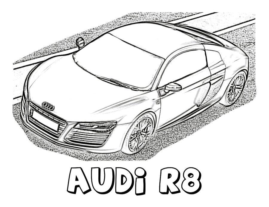 Ausmalbilder Ausmalbilder Audi Zum Ausdrucken Kostenlos Für