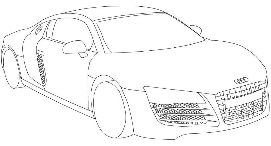 Coloring Pages Coloring Pages Audi Printable For Kids Adults Free