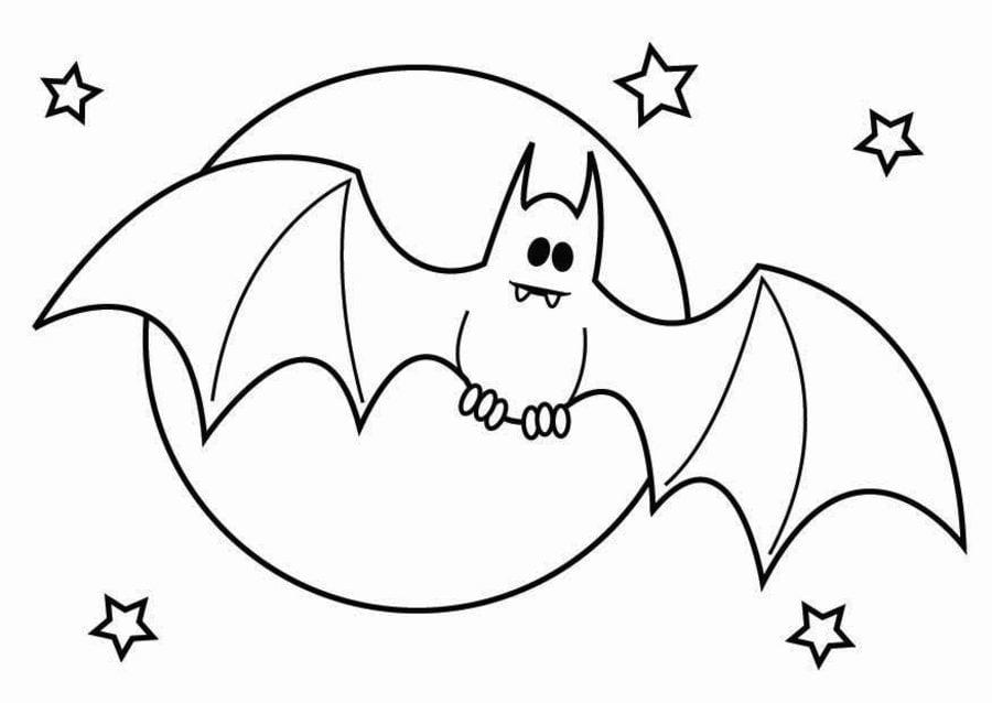 Dibujos Para Colorear Murciélagos Imprimible Gratis Para Los