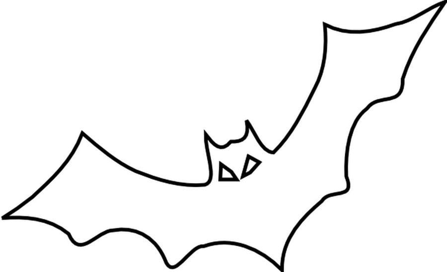 Dibujos para colorear murci lagos imprimible gratis - Dibujos de murcielagos para ninos ...