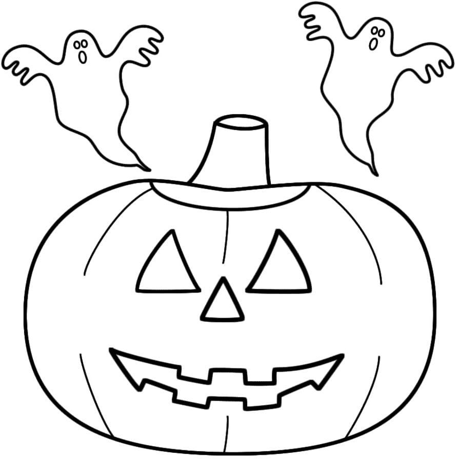 Disegni da colorare fantasmi stampabile gratuito per for Disegni da colorare per adulti e ragazzi