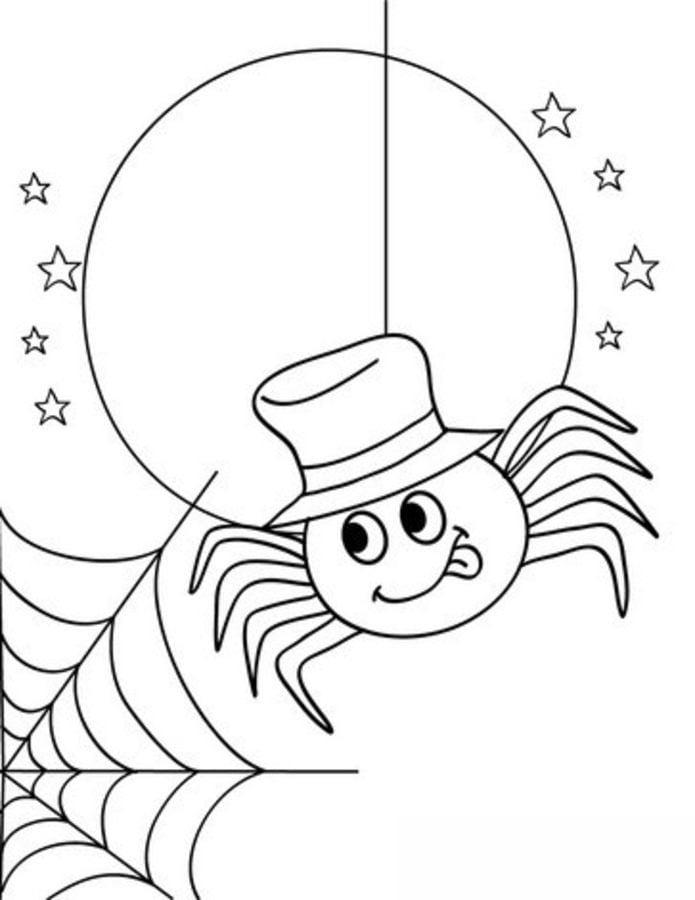 Free Printable Spider Coloring Pages For Kids | 900x695