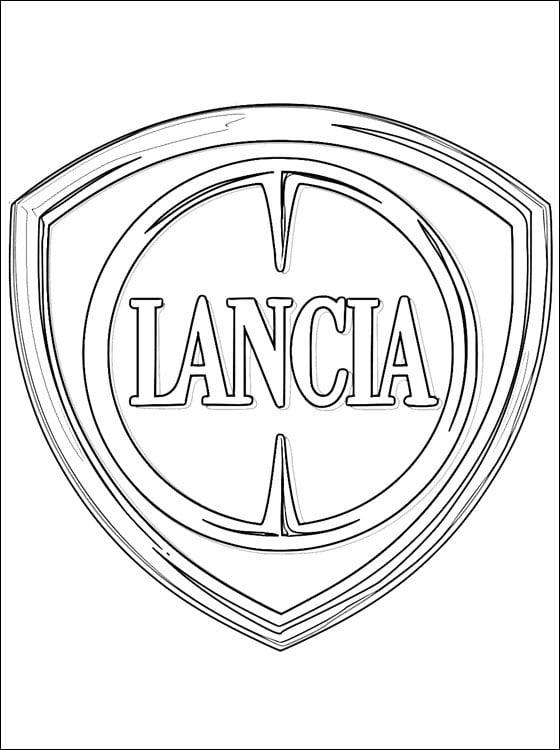 Dibujos para colorear: Lancia - logotipo imprimible, gratis, para ...