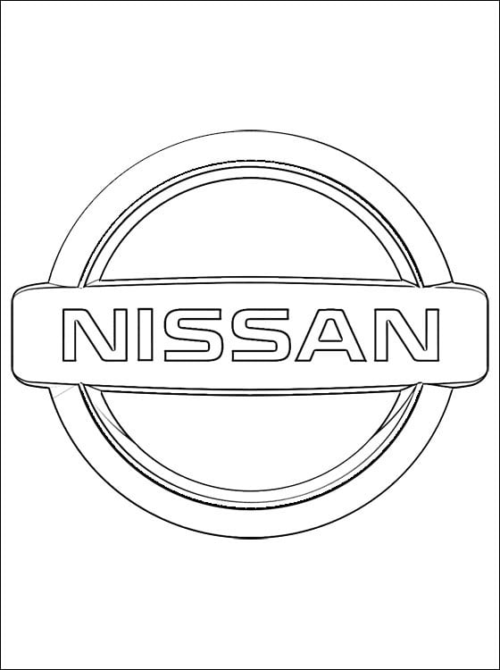 Coloring Pages Nissan