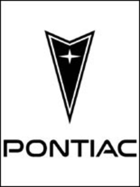 Ausmalbilder: Pontiac – logo