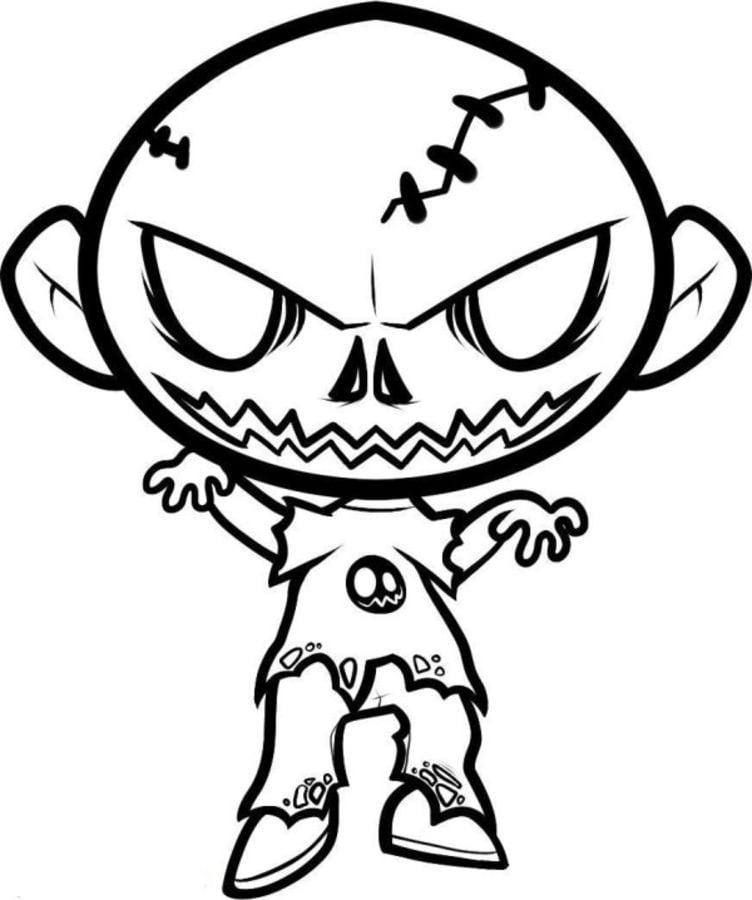 20 Der Besten Ideen Für Ausmalbilder Zombie - Beste ...