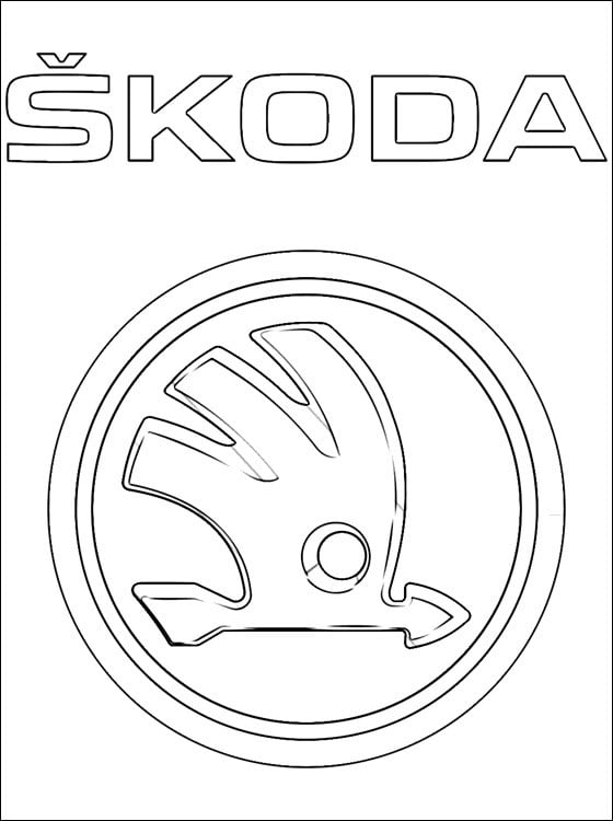 Coloring Pages Coloring Pages Skoda