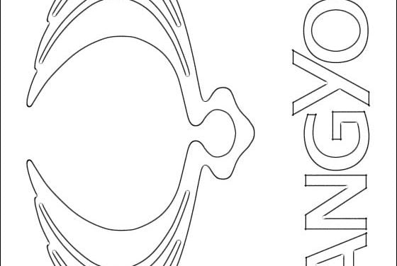 Coloring pages: SsangYong – logo