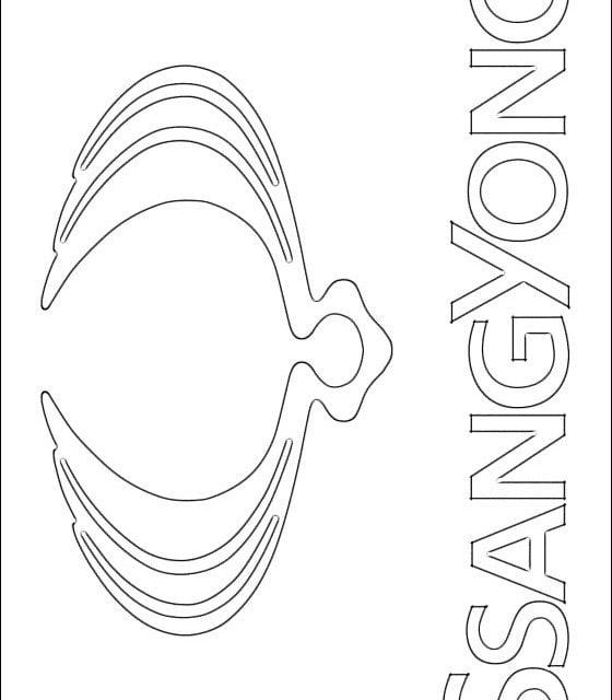 Kolorowanki: SsangYong – logo
