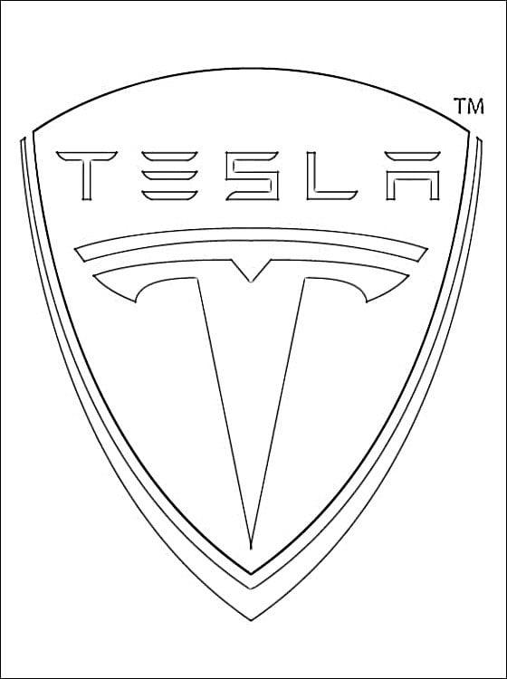 Cars Kleurplaat Online Kleuren Ausmalbilder Ausmalbilder Tesla Logo Zum Ausdrucken