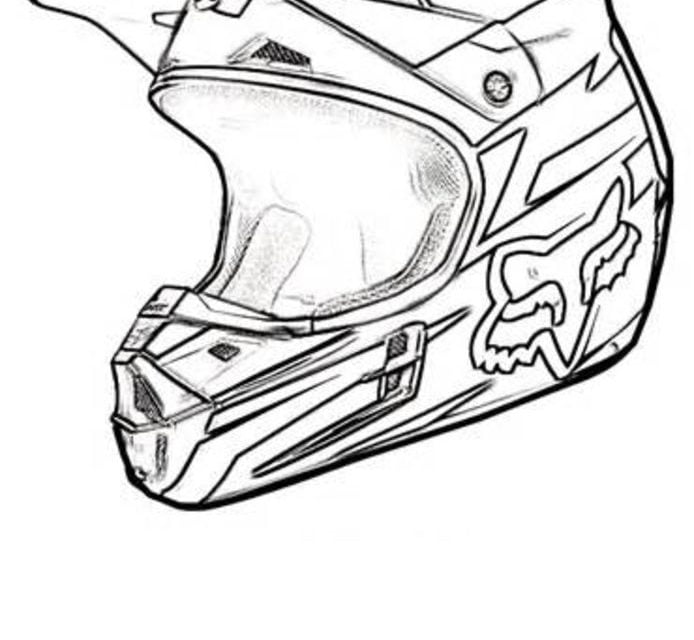 Coloring Pages Coloring Pages Motorcycle Helmet Printable For