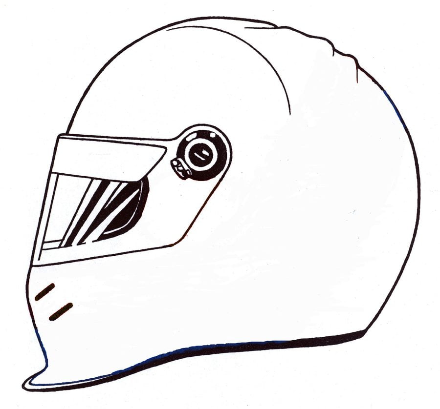 Drag Motorcycle Coloring Pages
