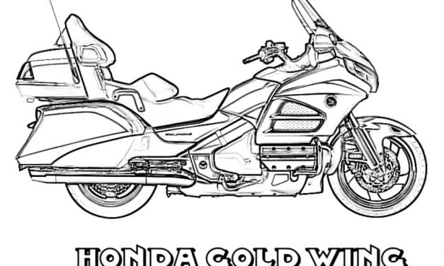 Coloring pages: Honda