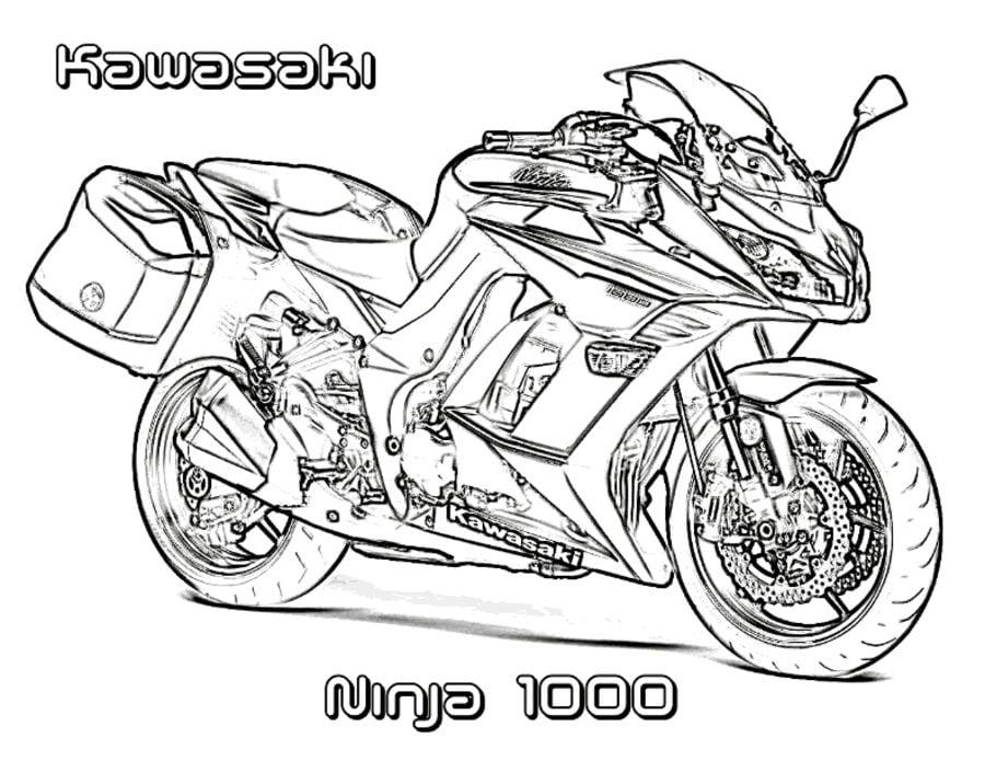 disegni da colorare  disegni da colorare  kawasaki