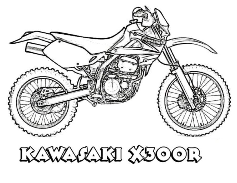 Ausmalbilder Kawasaki zum ausdrucken