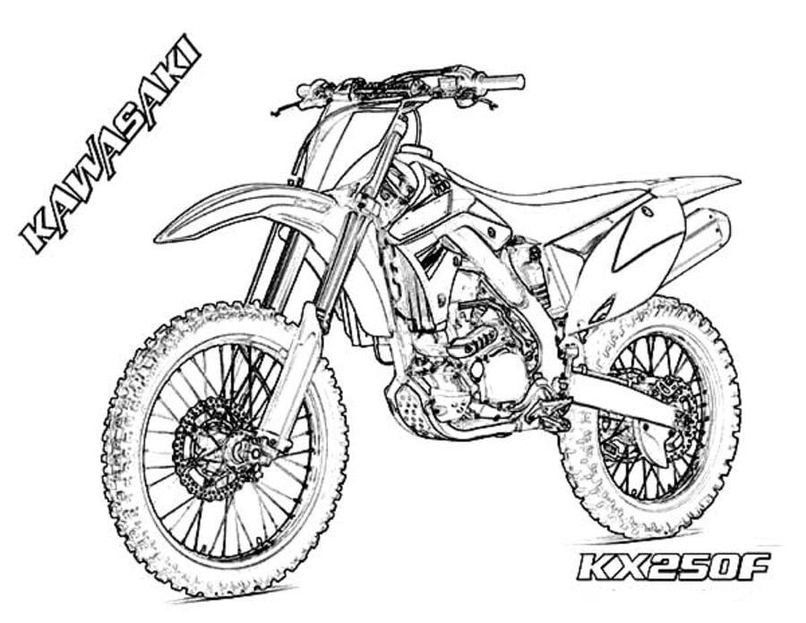 Disegni Da Colorare Disegni Da Colorare Motocross Stampabile