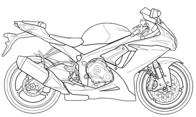 Coloring pages: Suzuki