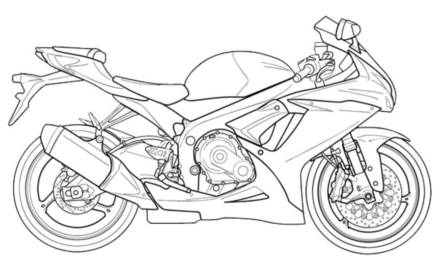Dibujos para colorear: Suzuki imprimible, gratis, para los niños y ...