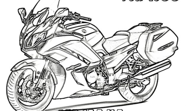 Coloring pages: Yamaha