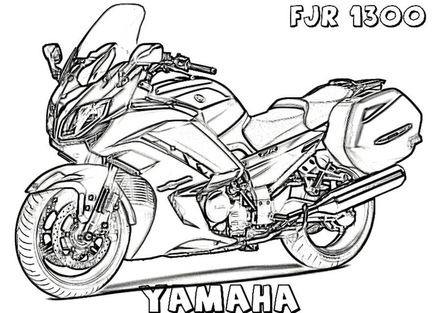 Coloring Pages Coloring Pages Yamaha Printable For Kids Adults