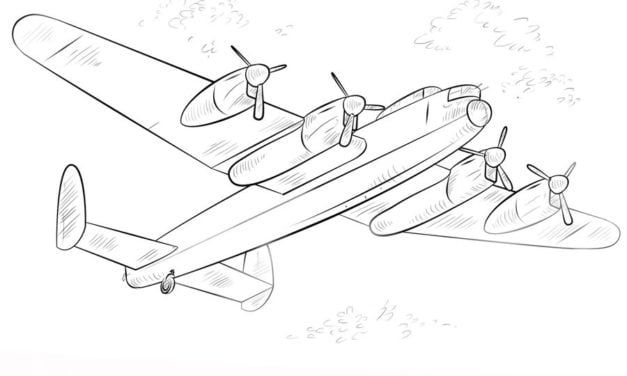 Coloring pages: Bomber