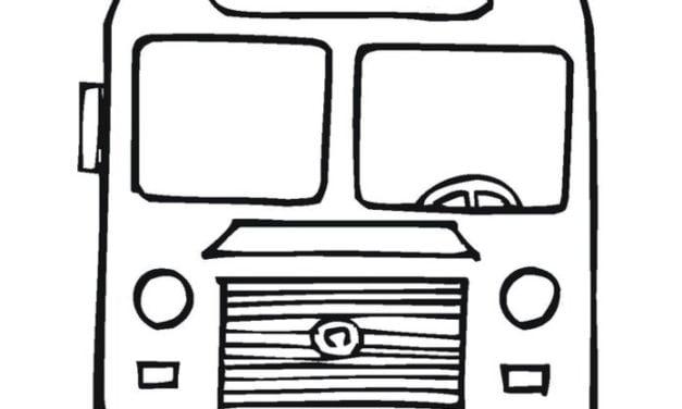 Ausmalbilder: Omnibus