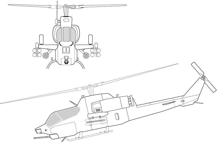 Disegni Da Colorare Disegni Da Colorare Elicottero Stampabile