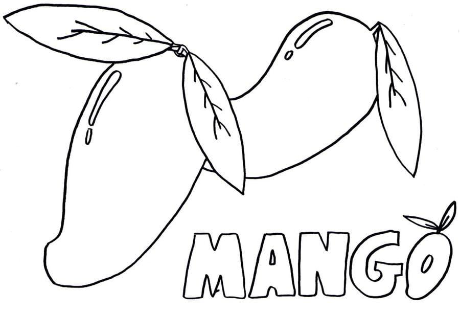 Coloriages Mangue Imprimable Gratuit Pour Les Enfants