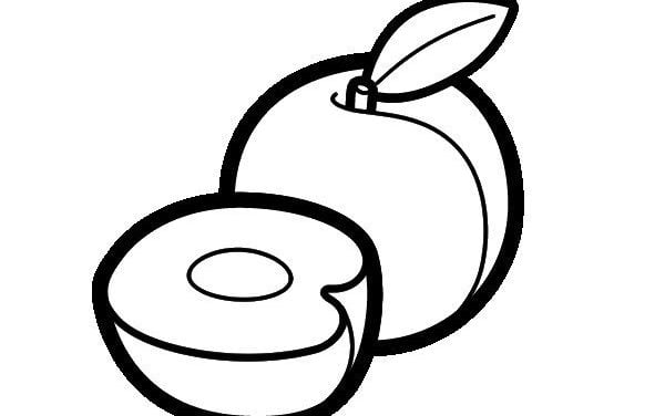 Coloring pages: Peach