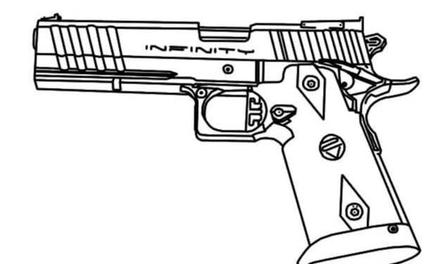Coloring pages: Pistol