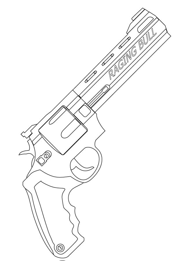 Disegni Da Colorare Disegni Da Colorare Pistola