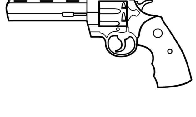 Coloring pages: Revolver