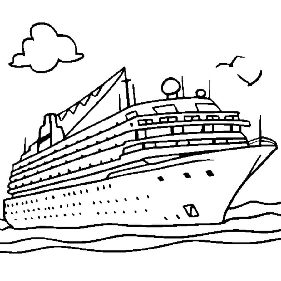 Disegni da colorare nave stampabile gratuito per for Disegni da colorare per adulti paesaggi