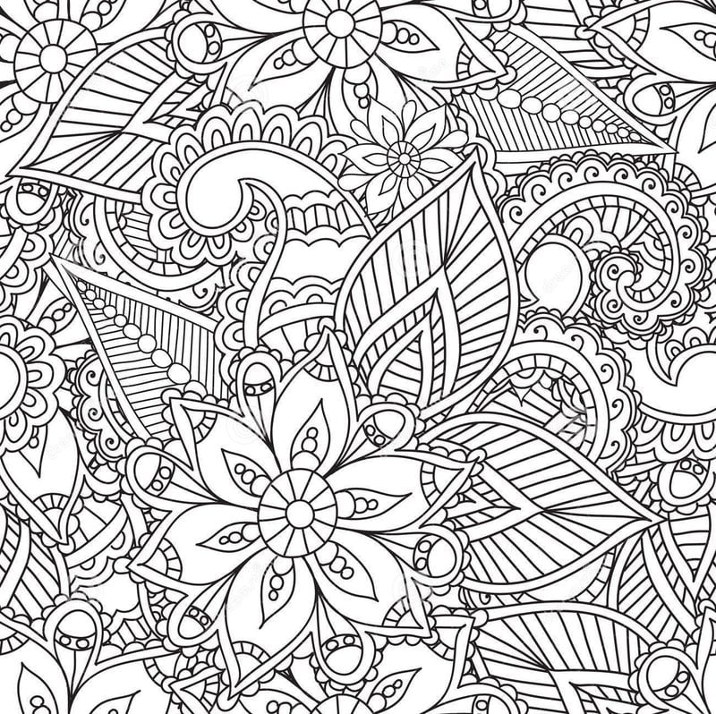 Coloring pages for adults: Arabesque, printable, free to download ...
