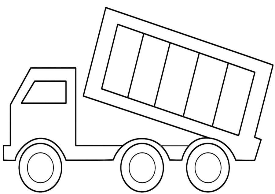 Pojazdy budowlane Kolorowanki Transport