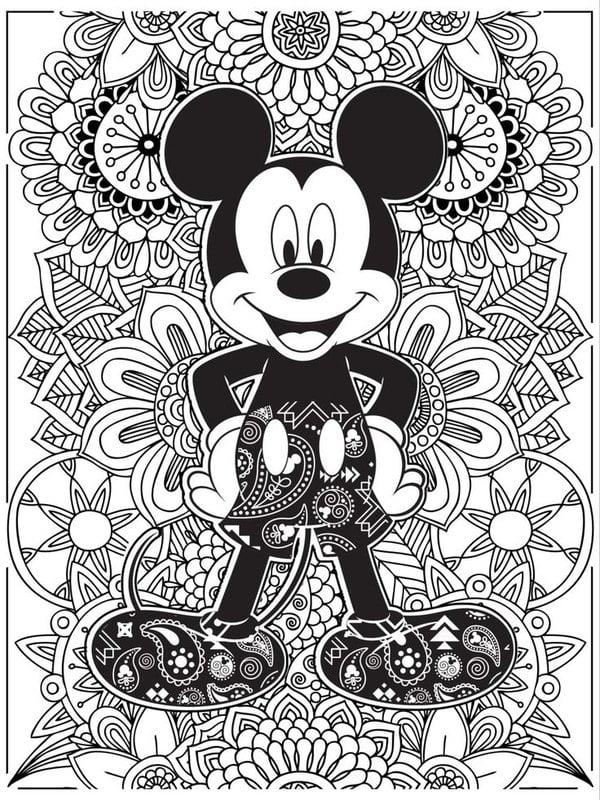 Ausmalbilder für erwachsene: Disney zum ausdrucken, kostenlos