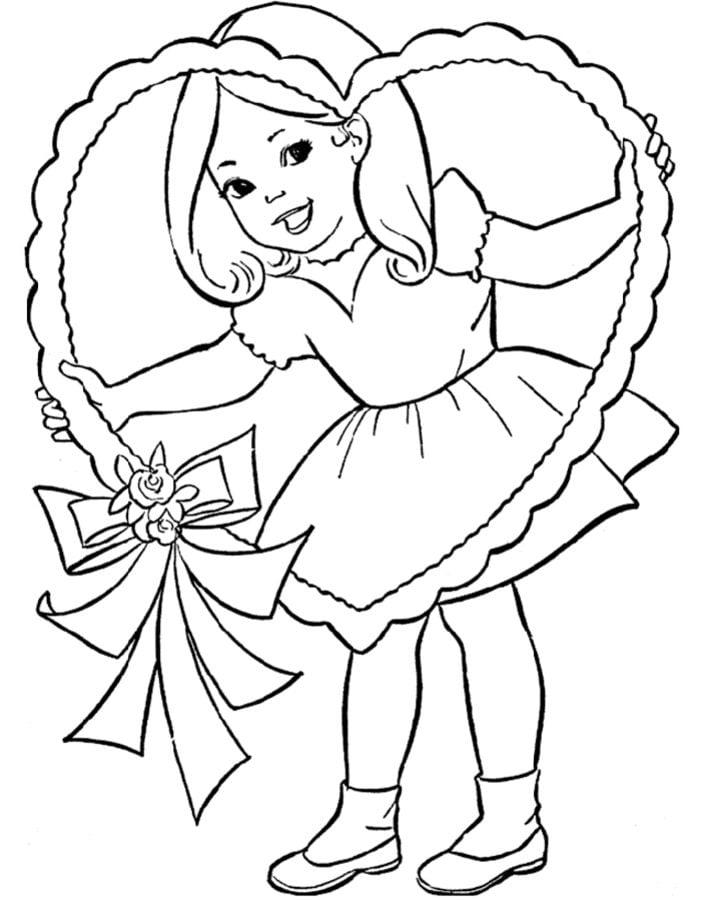 Ausmalbilder: Mädchen zum ausdrucken, kostenlos, für Kinder und ...