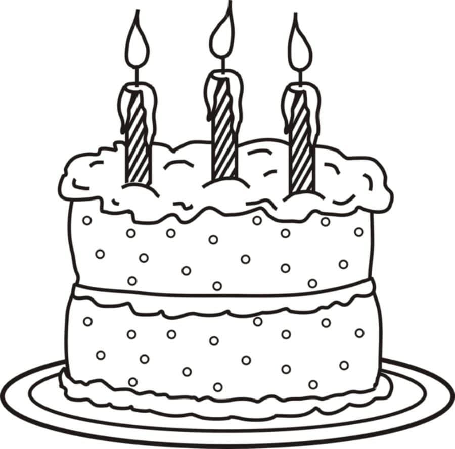 Geburtstag Torte Ausmalbilder : Ausmalbilder Torte Zum Ausdrucken Kostenlos F R Kinder Und Erwachsene