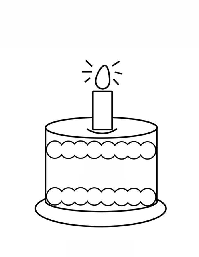 ausmalbilder ausmalbilder torte zum ausdrucken