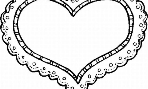 Coloring pages: Heart