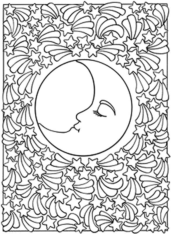 pattern coloring pages for teens - photo#42