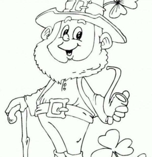 Kolorowanki Komiksy Do Druku Za Darmo Dla Dzieci I: Kolorowanki: Kolorowanki: Leprechaun Do Druku Dla Dzieci I