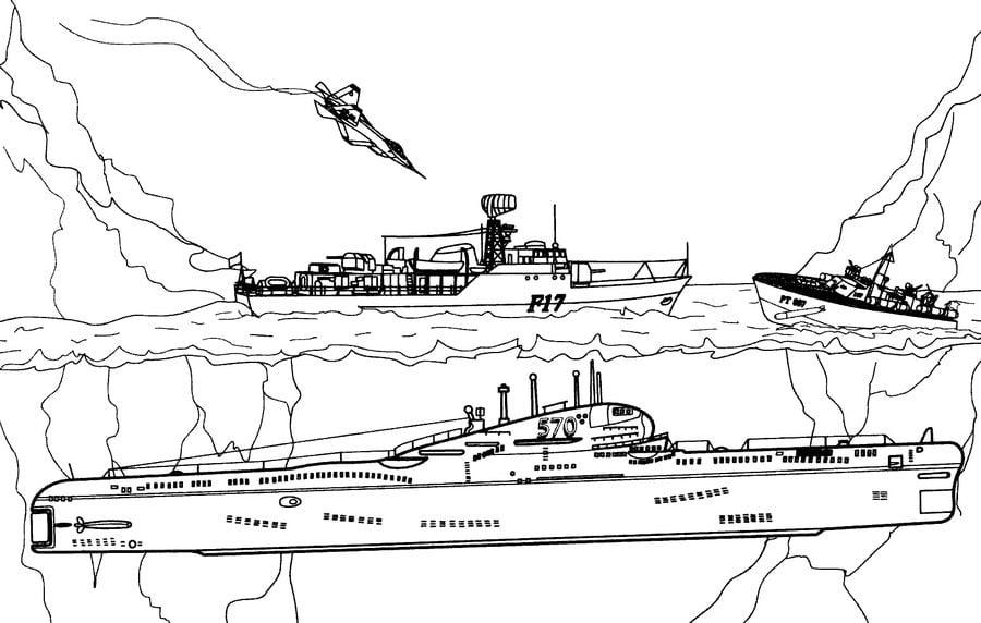 Ausmalbilder Ausmalbilder U Boot Zum Ausdrucken Kostenlos Für