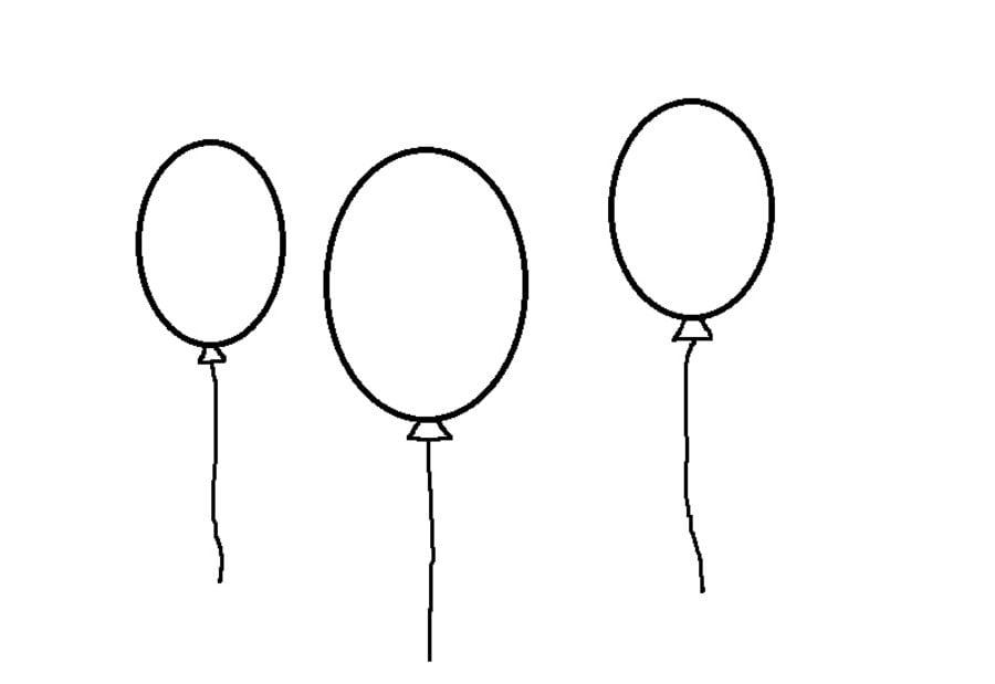 Disegni da colorare palloncino stampabile gratuito per - Pagine da colorare a palloncino ...