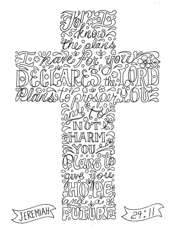 Coloring Pages For Adults Religious Printable Free To